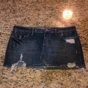 Hollister Size 5 Jean skirt
